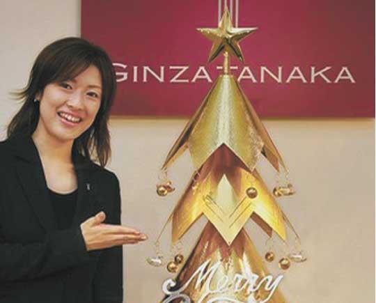 Новый год под золотой елкой – японцы создали настоящий шедевр