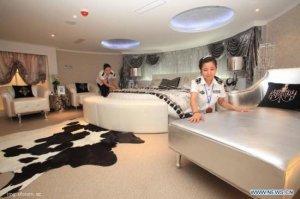 Авианосец после тюнинга превратился в люксовый отель