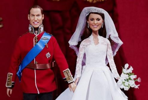 Куклы для игры в «Королевскую свадьбу»: $ 264 – за один экземпляр
