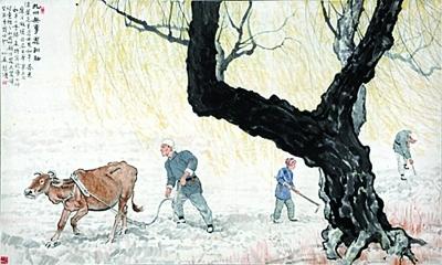 Картина китайского художника-реалиста продана за $42 000 000
