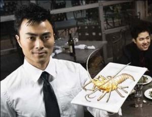 Золотой лобстер - деликатес от индийских поваров