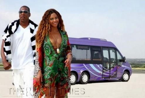 Поп-дива Бейонсе и рэпер Jay-Z сорят деньгами