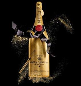 Шестилитровая бутылка шампанского – ценный новогодний подарок для настоящих ценителей
