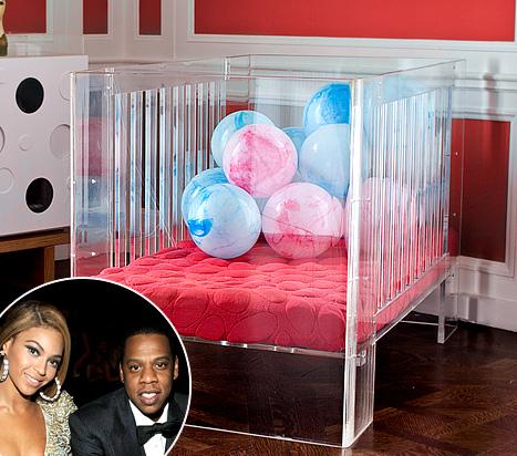 Дочка Бейонсе спит в кроватке за $3500