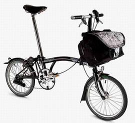 Велосипедов London Brompton выпущено всего 500 штук