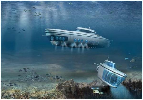 Частные подводные лодки: новая игрушка для богатых владельцев