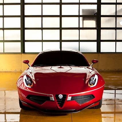 Компания Alfa Romeo возродила легендарный Disco Volante