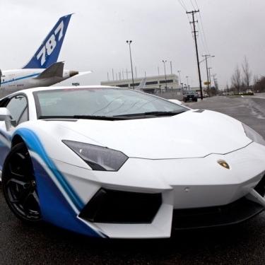 Суперкар-самолет от Lamborghini и Boeing