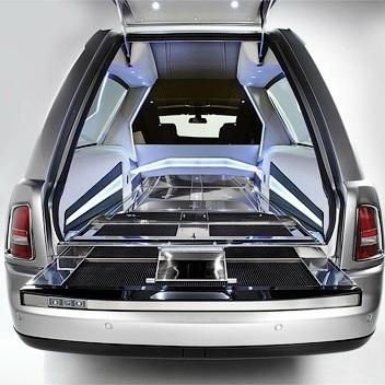 Самый дорогой в мире катафалк - Rolls-Royce Phantom Hearse B12