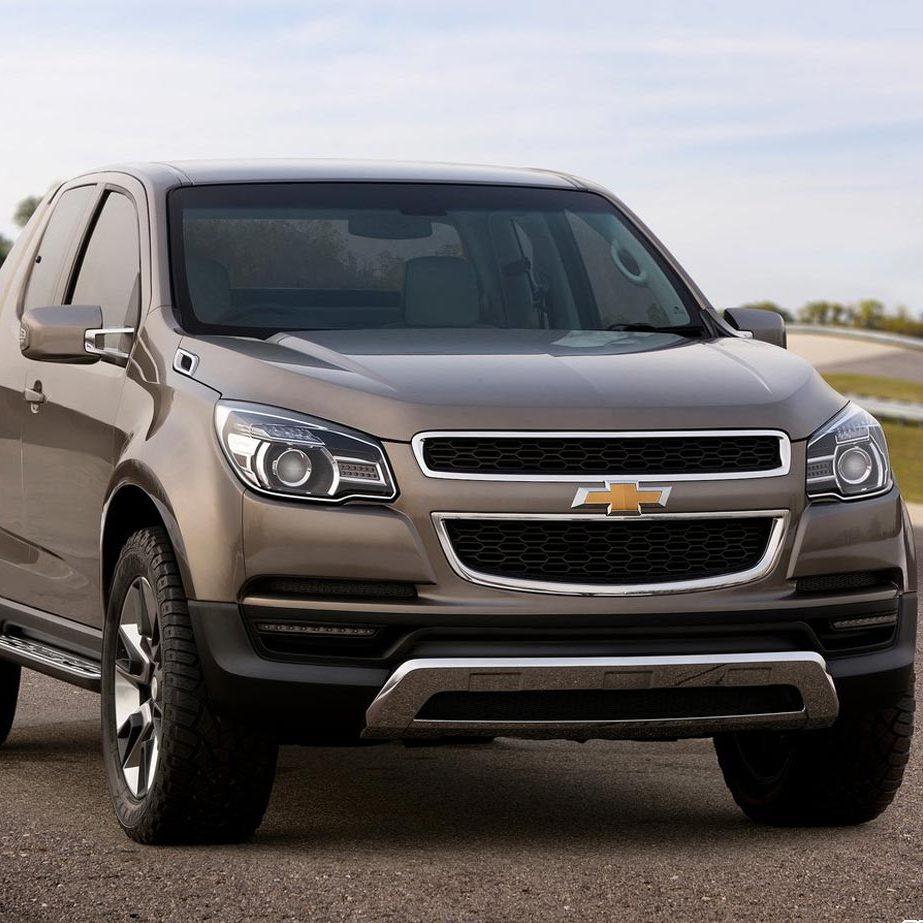 Роскошный пикап Colorado от компании Chevrolet создан для свободы передвижения