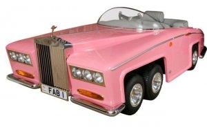 Для маленьких модниц – розовый «Роллс Ройс»