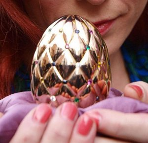 Пасхальные яйца — необычные и дорогие