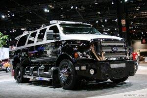 Ford F650 – большая и роскошная игрушка для сильных мужчин