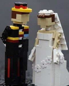 Парк «Леголенд» создал лего-свадьбу Кейт Миддлтон и принца Уильяма