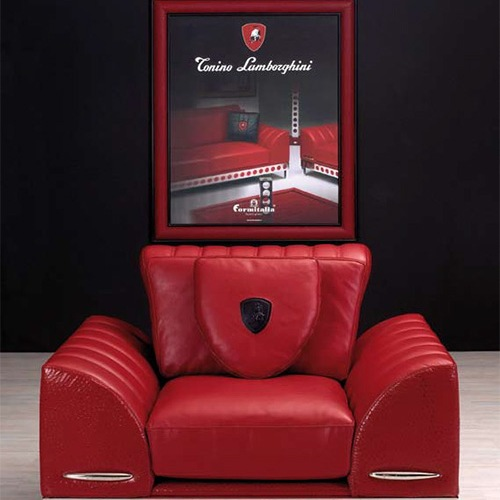 Мебель от Mercedes-Benz, Aston Martin, Lamborghini…