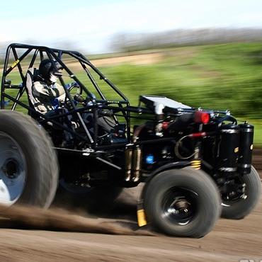 Самый быстрый спорт-трактор