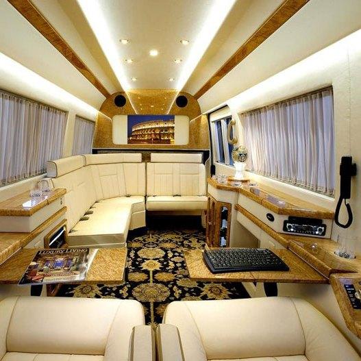 Элитный микроавтобус для селебритис