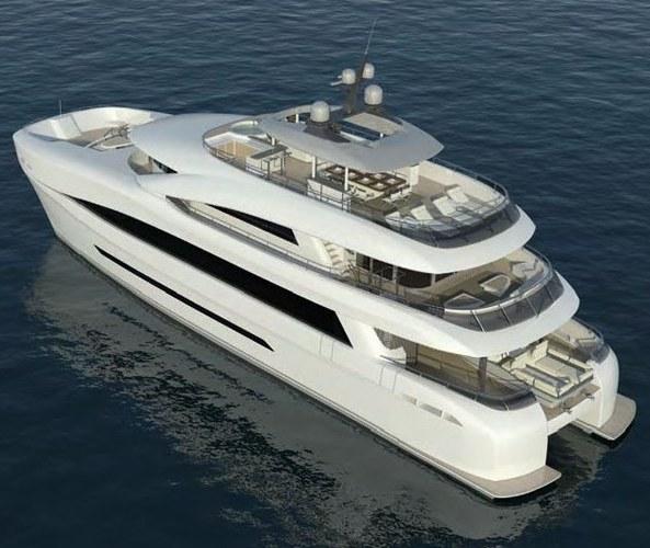 Роскошная яхта-катамаран стоимостью $12 500 000