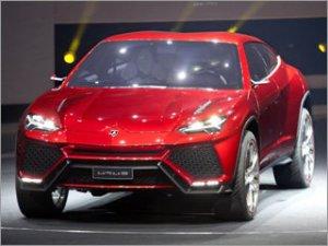 """Концептуальный внедорожник """"Urus"""" от Lamborghini"""