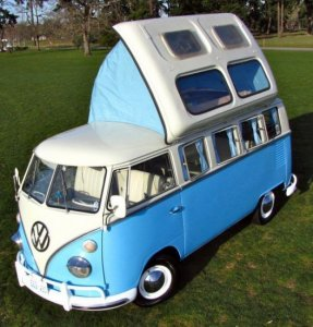 Любимец хиппи - фургон Volkswagen Dormobile уходит с молотка почти за $20 000