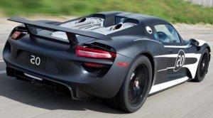 Цена серийного «гибридника» Porsche 918 Spyder будет свыше $820 000
