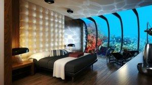 Роскошный подводный отель в Дубае