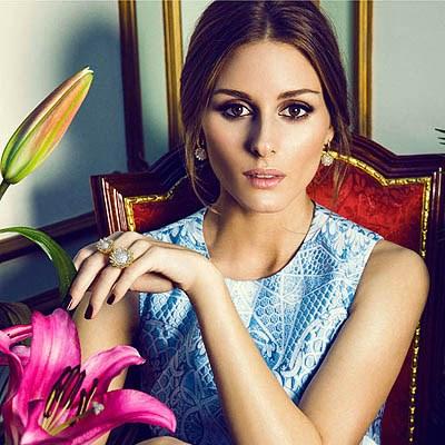 Оливия Палермо в рекламе ювелирных украшений затмила блеск бриллиантов