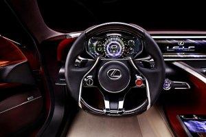 Новый суперкар пополнит линейку моделей Lexus