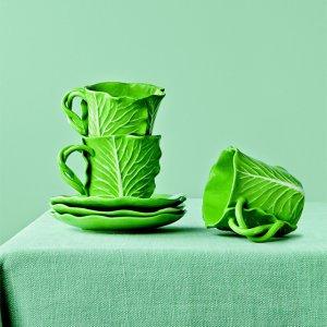 Dodie Thayer и Tory Burch создали «овощную» посуду для гурманов-оригиналов