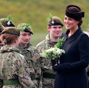 Перед декретным отпуском Кейт Миддлтон совершила последнее официальное путешествие в Хэмпшир