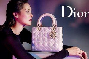 «Звёздная» сумка Lady Dior – уникальный аксессуар от легендарного бренда