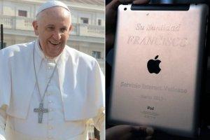 Священник продал iPad Папы Римского на аукционе