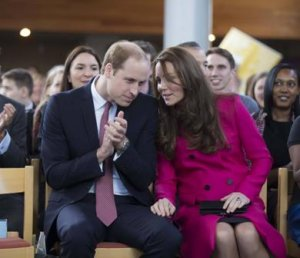 Герцоги Кембриджские и их поклонники ждут появления наследника