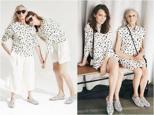 86-летнаяя модель представила молодежную одежду