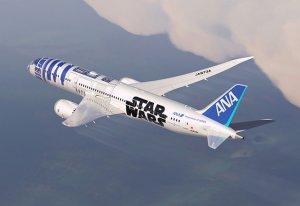 Самолет с сюрпризом в духе «Звездных войн»