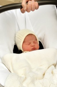 Маленькую принцессу Кембриджскую назвали Шарлоттой