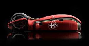 Новый мотоцикл Alfa Romeo Spirito сделали прозрачным