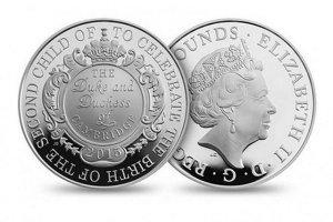 Принцессу Шарлотту отчеканят на монетах