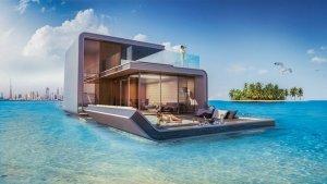 Плавающая вилла в Дубае для поездок «все включено»
