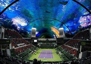 В теннис теперь можно играть под водой