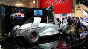 Toyota готова презентовать оригинальный трёхместный спорткар