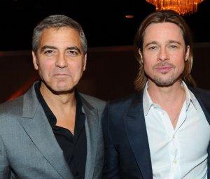 Почему Джордж Клуни поссорился с Брэдом Питтом