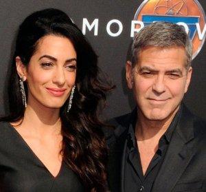 Анорексия не обошла стороной и Амаль Клуни