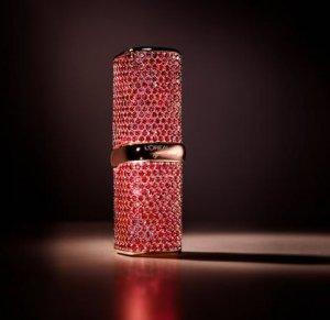 Chopard и L'Oreal выпустили помаду Color Riche, инкрустированную рубинами