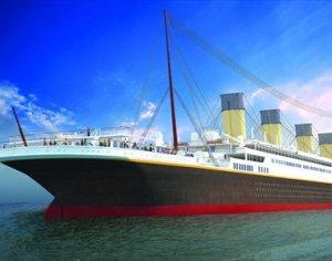 В Китае создадут новый «Титаник» (видео)