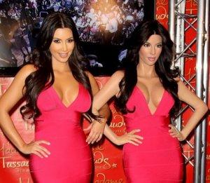 Ким Кардашьян стала музейным экспонатом