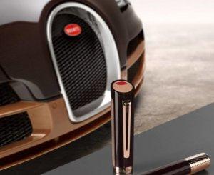 Бренд Montegrappa в честь знаменитого суперкара выпустил коллекцию ручек Bugatti Pur San Duetone