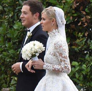 «Миллионы в брачной корзине»: Никки Хилтон стала женой Джеймса Ротшильда