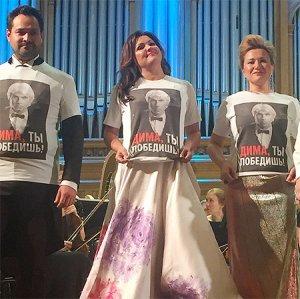 Выступление Анны Нетребко в поддержку Дмитрия Хворостовского