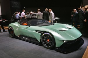 Тандем компаний Red Bull и Aston Martin создали новейший суперкар